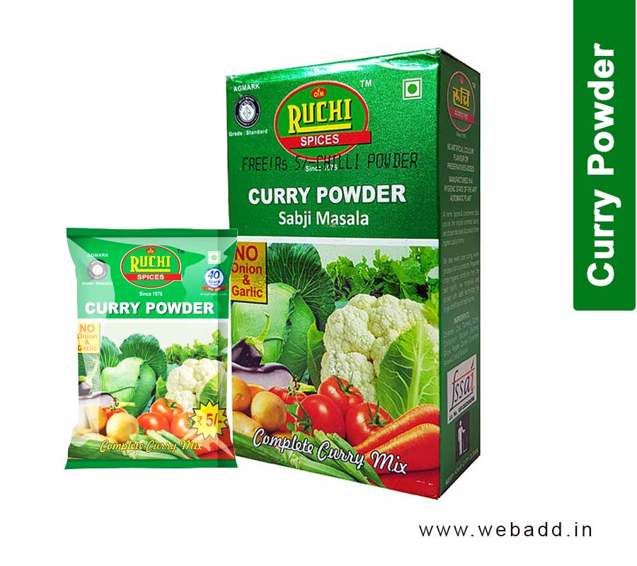 Curry (Subji) Powder - Ruchi